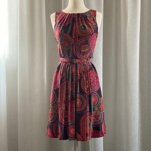 🔹Silk Midi Dress /Trina Turk/ 0-Xs